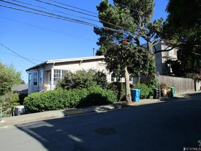 San Francisco Multi Family Home For Sale: 3953 3955 21st St