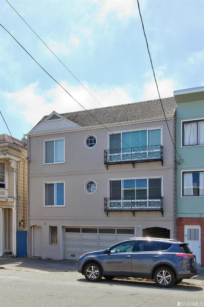 San Francisco Multi Family Home For Sale: 3411 Anza St