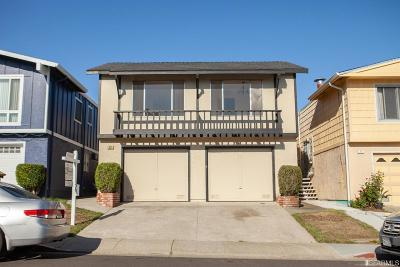 Daly City Single Family Home For Sale: 52 Lycett Cir