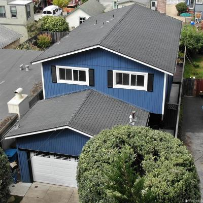 Pacifica CA Single Family Home For Sale: $1,090,000