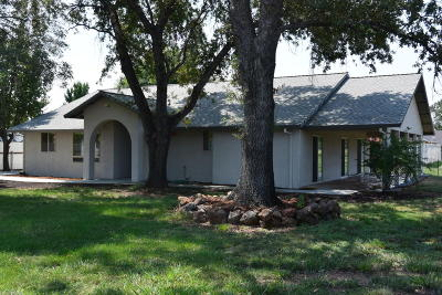 Palo Cedro Single Family Home For Sale: 22490 Golftime Dr