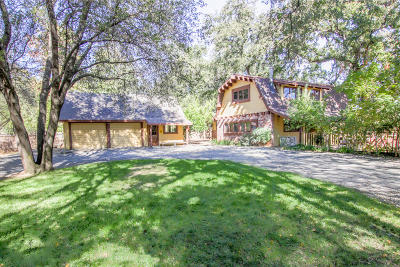 Palo Cedro Single Family Home For Sale: 9869 Oriole Ln