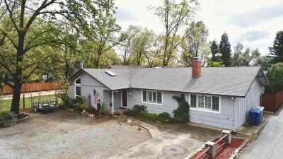 Redding CA Single Family Home For Sale: $280,000