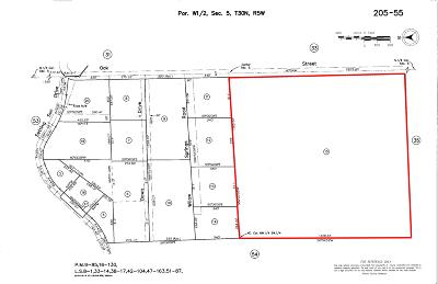 Anderson Residential Lots & Land For Sale: 39+ ACRES. Oak St.