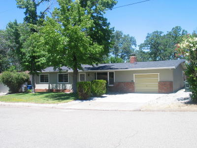 Redding CA Single Family Home For Sale: $265,000