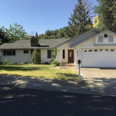 Redding CA Single Family Home For Sale: $389,500