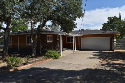 Redding CA Single Family Home For Sale: $214,900