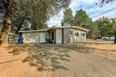 Redding CA Single Family Home For Sale: $209,900