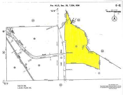 Shasta Lake Residential Lots & Land For Sale: Lake Blvd (15.8 Ac)