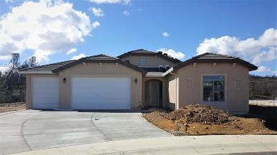 Redding Single Family Home For Sale: 4100 Wind Cove Dr., Lot 34