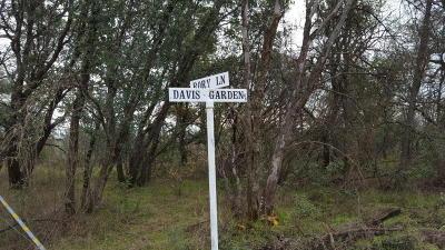 Cottonwood Residential Lots & Land For Sale: Davis Garden Dr