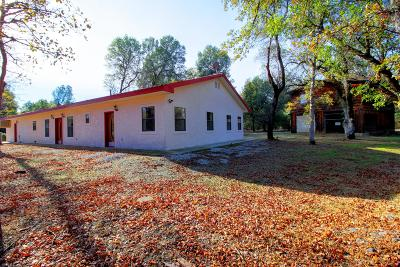 Single Family Home For Sale: 8030 Placer Rd