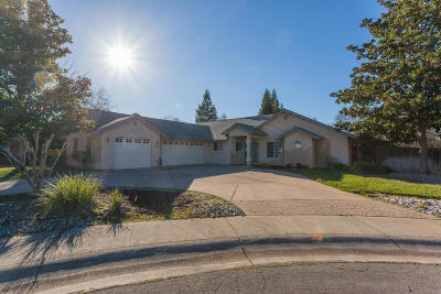 Redding CA Single Family Home For Sale: $344,900