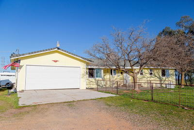 Red Bluff Single Family Home For Sale: 11630 Paskenta Rd