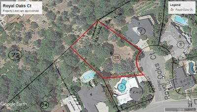 Residential Lots & Land For Sale: 660 Royal Oaks Dr