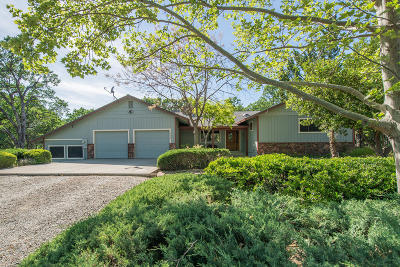Red Bluff Single Family Home For Sale: 14395 Del Oro Ct