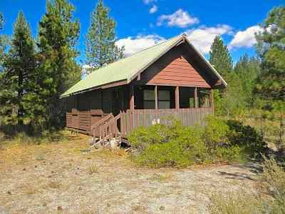 McCloud Single Family Home For Sale: 41n23 Hambone Cabin