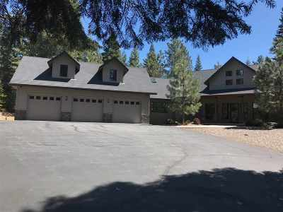 Mt Shasta Single Family Home For Sale: 1808 Cold Creek Circle