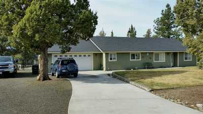 Weed Single Family Home For Sale: 5934 Pinehill Rd.