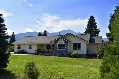 Mt Shasta Single Family Home For Sale: 835 Quail Meadow Drive