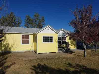 Weed Single Family Home For Sale: 19715 Big Springs Rd.