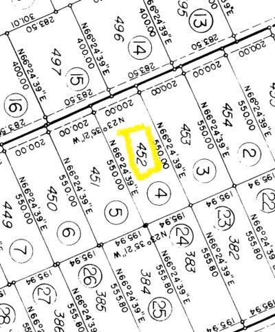 Residential Lots & Land For Sale: Lot 452 Hilltop Drive