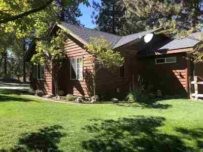 Weed Single Family Home For Sale: 17445 Jack Rabbit Rd.