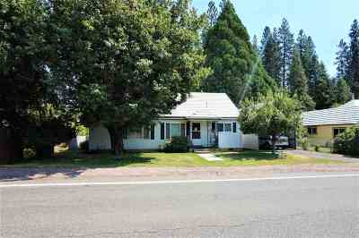 McCloud Single Family Home For Sale: 300 Squaw Valley Rd.