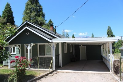 Mt Shasta Single Family Home For Sale: 1217 Wertz Rd