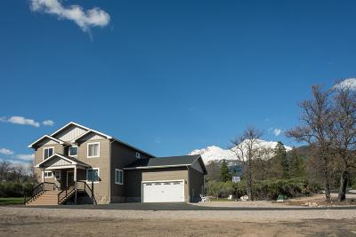 Mt Shasta Single Family Home For Sale: 1399 North Ridge Dr