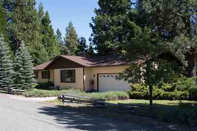 Mt Shasta Single Family Home For Sale: 818 Lake Court