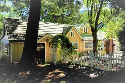 Dunsmuir Single Family Home For Sale: 4017 Woodward Lane