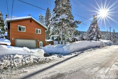 Single Family Home For Sale: 2717 South Upper Truckee Road
