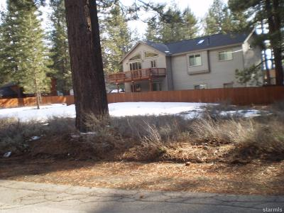 South Lake Tahoe Residential Lots & Land For Sale: 1304 Susie Lake Road