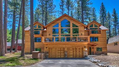 South Lake Tahoe Single Family Home For Sale: 3708 Verdon Lane