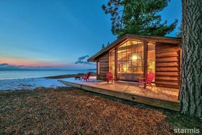 South Lake Tahoe Single Family Home For Sale: 3865 Beach Road
