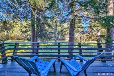 South Lake Tahoe CA Single Family Home For Sale: $319,999
