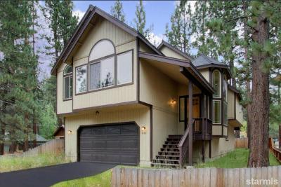 South Lake Tahoe CA Single Family Home For Sale: $699,000
