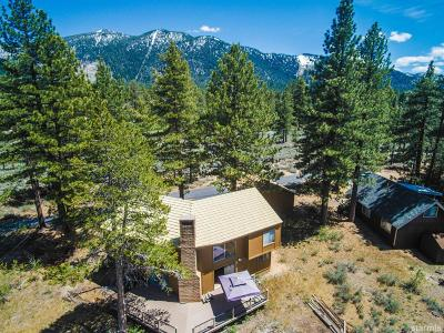 South Lake Tahoe CA Single Family Home For Sale: $989,000