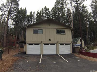 South Lake Tahoe CA Multi Family Home For Sale: $549,000