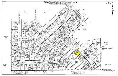 South Lake Tahoe Residential Lots & Land For Sale: 1767 Nadowa Street