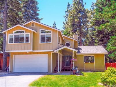 South Lake Tahoe CA Single Family Home For Sale: $658,999