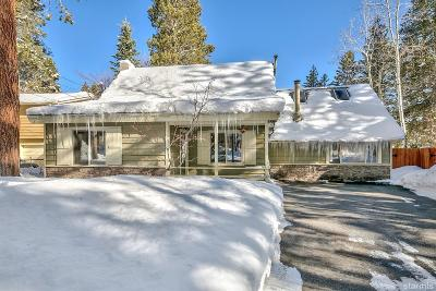 South Lake Tahoe CA Single Family Home For Sale: $524,000