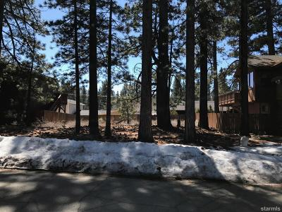 South Lake Tahoe Residential Lots & Land For Sale: 3348 Mount Rose Road