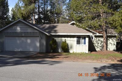 South Lake Tahoe CA Single Family Home For Sale: $425,000