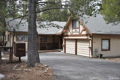South Lake Tahoe Single Family Home For Sale: 1090 Modoc Way