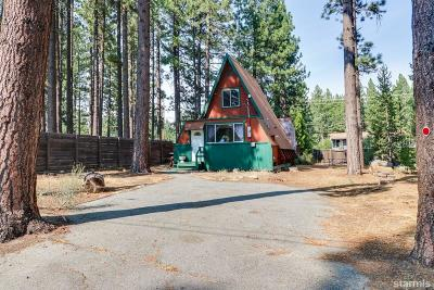 South Lake Tahoe Single Family Home For Sale: 1253 Heather Lake Road
