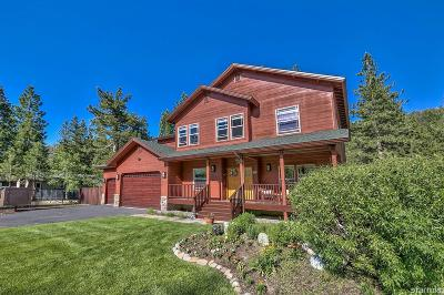 South Lake Tahoe Single Family Home For Sale: 2877 Saint Nick Way