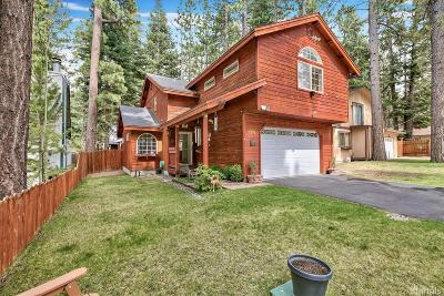 South Lake Tahoe CA Single Family Home For Sale: $589,900