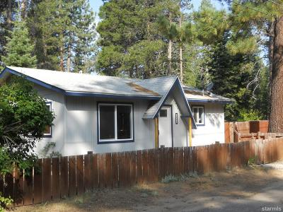 South Lake Tahoe CA Single Family Home For Sale: $349,000
